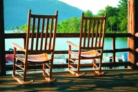 Silver Bay Rocking Chairs by the Lake